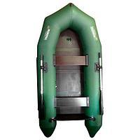 Лодка 'Мурена 320МК СЛ', слань + киль, цвет олива