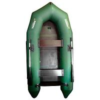 Лодка 'Мурена 330МК СЛ', слань + киль, цвет олива