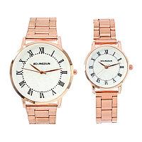 Часы наручные, 'Олимпиас', парный набор для нее и для него, золотые