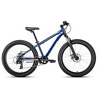 Велосипед 24' Forward Bizon mini, 2021, цвет синий, размер 13'