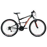 Велосипед 27,5' Forward Raptor 1.0, цвет черный/красный, размер 16'