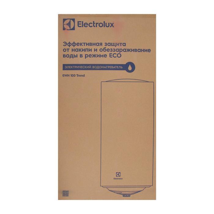 Водонагреватель Electrolux EWH 100 Trend, накопительный, 1.5 кВт, 100 л, белый - фото 7