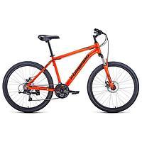 Велосипед 26' Forward Hardi 2.1 disc, 2021, цвет оранжевый/черный, размер 18'