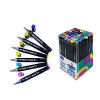 Набор двухсторонних маркеров для скетчинга Mazari Fantasia, 36 цветов Main colors (основные цвета)