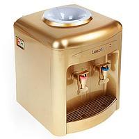 Кулер для воды LESOTO 36 TD, нагрев и охлаждение, 500/68 Вт, цвет золото