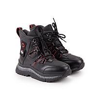 Ботинки детские, цвет чёрный, размер 33
