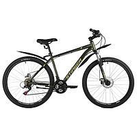 Велосипед 27,5' Stinger Caiman D, цвет зеленый, размер 18'
