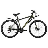 Велосипед 27,5' Stinger Caiman D, цвет зеленый, размер 20'