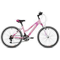 Велосипед 24' Stinger Latina, 2021, цвет розовый, размер 12'