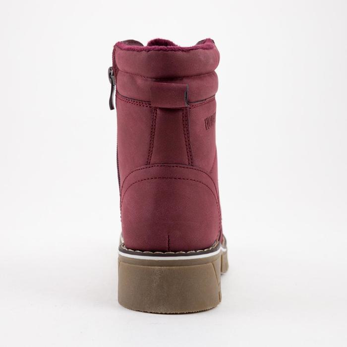 Ботинки женские, цвет бордовый, размер 36 - фото 3