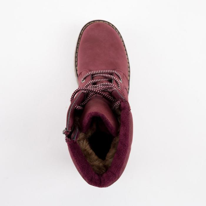 Ботинки женские, цвет бордовый, размер 36 - фото 4