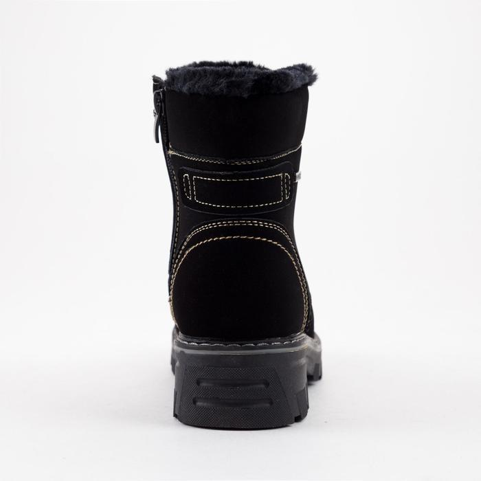 Ботинки женские, цвет чёрный, размер 36 - фото 3