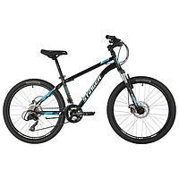 Велосипед 24' Stinger Caiman D, 2021, цвет чёрный, размер 12'