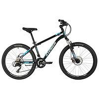 Велосипед 24' Stinger Caiman D, 2021, цвет чёрный, размер 14'