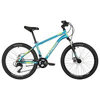 Велосипед 24' Stinger Caiman D, 2021, цвет синий, размер 14'