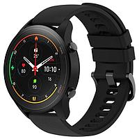 Смарт-часы Xiaomi Mi Watch (BHR4550GL), 1.39', Amoled, пульсометр, шагомер, 420 мАч, черные