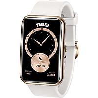 Смарт-часы Huawei Fit Elegant TIA-B29, 1.64', Amoled, пульсомер, шагомер, 180 мАч, белые