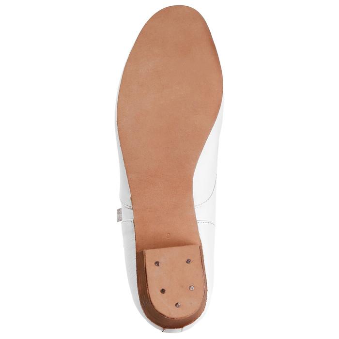 Туфли народные женские, длина по стельке 22,5 см, цвет белый - фото 6