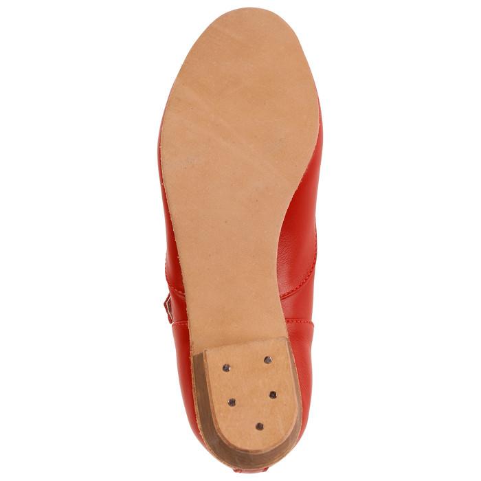 Туфли народные женские, длина по стельке 21,5 см, цвет красный - фото 6