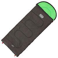 Спальник 2-слойный, L одеяло+подголовник 185 x 70 см, camping comfort summer, таффета/таффета, +15C