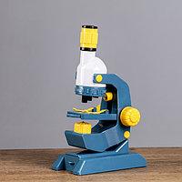 Микроскоп 'Наука', кратность увеличения 1200х, 400х, 100х, с подсветкой