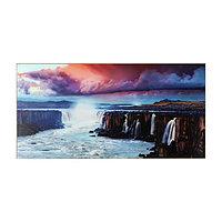 Картина 'Красивый вид на водопад' 50*100 см