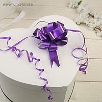 Бант-шар №1,8 простой фиолетовый