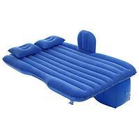 Матрас надувной в автомобиль 130 х 84 х 35 см, цвет синий