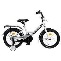 Велосипед 16' Graffiti Classic, цвет белый/черный