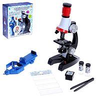 Микроскоп детский 'Исследуем окружающий мир', со штативом для смартфона