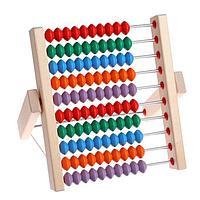 Игрушка 'Счёты' деревянные (вертикальные)