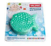 Набор мини-ковриков для ванной комнаты Valiant [6 шт.] (Камбала)