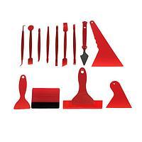 Набор инструмента для оклейки автомобиля, 13 предметов