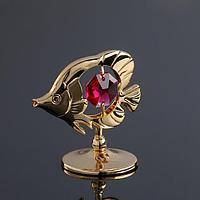 Сувенир 'Тропическая рыбка', с кристаллами Сваровски