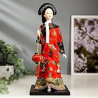Кукла коллекционная 'Китаянка в национальном платье 'МИКС 28х12,5х12,5 см