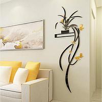 Декор настенный 'Цветы', 100 х 32 см