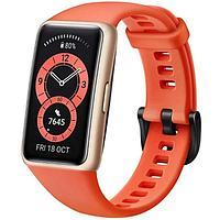 Фитнес-браслет Huawei Band 6, 1.47', Amoled, WR50, BT 5.0, 180 мАч, оранжевый