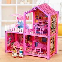 Дом для кукол 'Коттедж' с куклами и аксессуарами