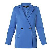 Пиджак женский двубортный MIST, р. 46, синий