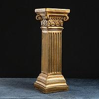 Колонна 'Античная малая' 18х18х58см бронза