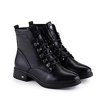 Ботинки женские, цвет чёрный, размер 38