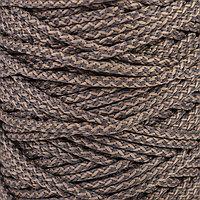 Шнур для вязания с сердечником, полиэфир 100 , ширина 5 мм, 100 м / 350 г (меланж)