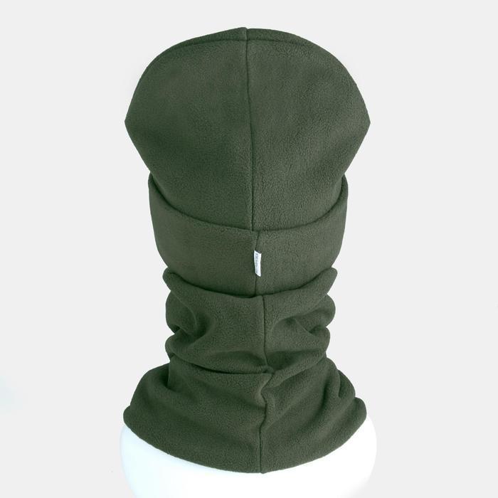 Комплект (шапка, снуд) детский, цвет хаки, размер 54-56 - фото 2