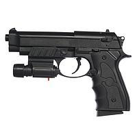Пистолет страйкбольный Galaxy Beretta 92 G.052BL c ЛЦУ, 6 мм