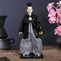Кукла коллекционная 'Самурай с саблей' 30х12,5х12,5 см
