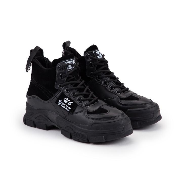 Ботинки женские, цвет чёрный, размер 38 - фото 1