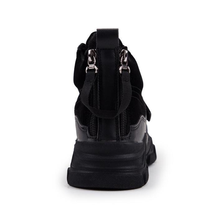 Ботинки женские, цвет чёрный, размер 38 - фото 3