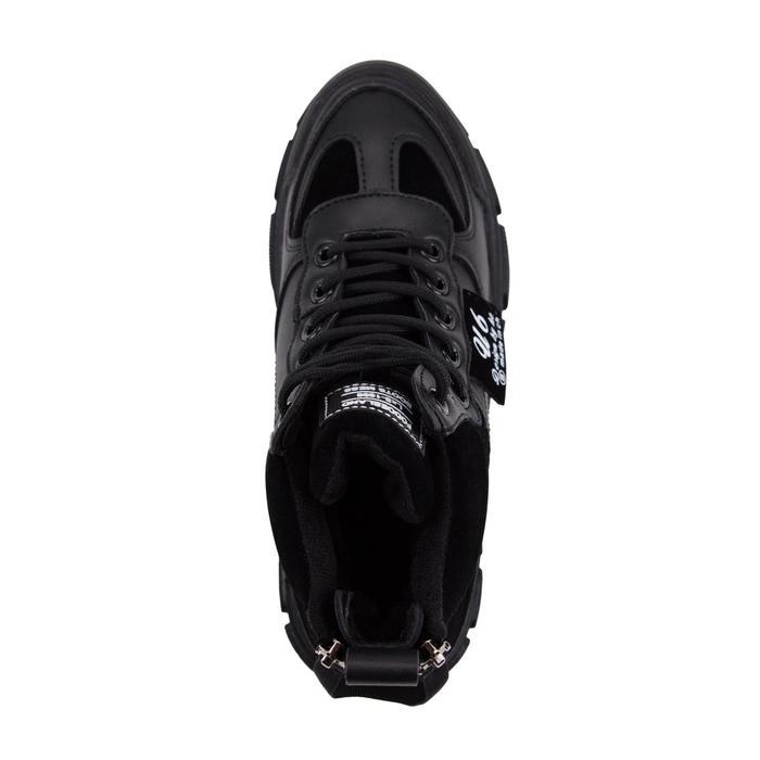 Ботинки женские, цвет чёрный, размер 38 - фото 4