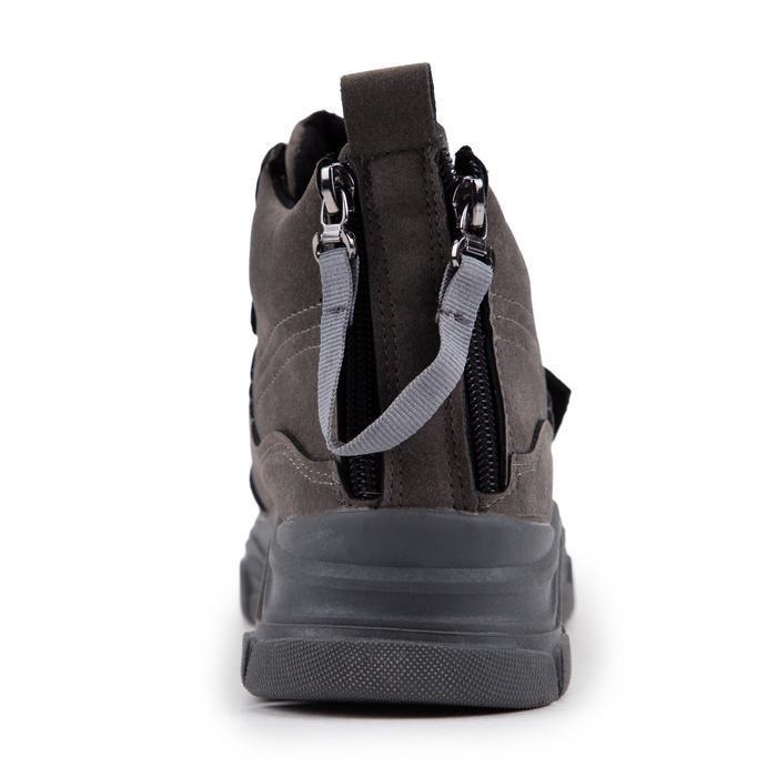 Ботинки женские, цвет серый, размер 36 - фото 3