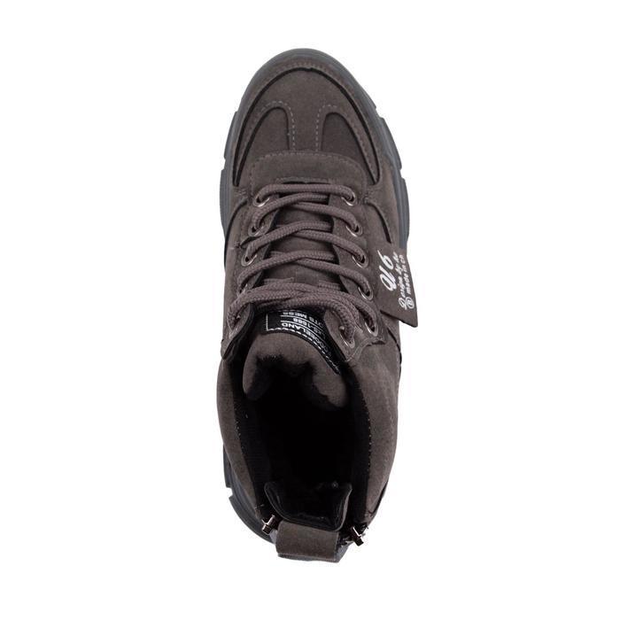 Ботинки женские, цвет серый, размер 36 - фото 4